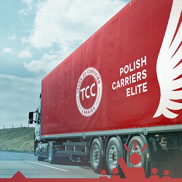 Biało-czerwona edycja plandek TCC
