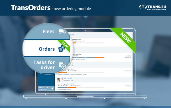 TransOrders new ordering module