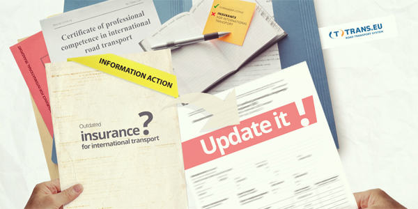Information action – care for your documents!