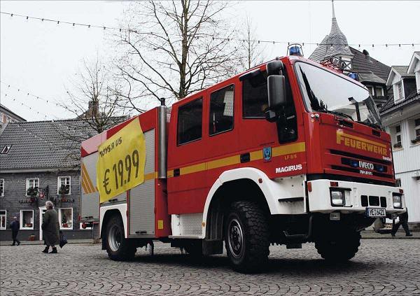 wóz strażacki Toys R us
