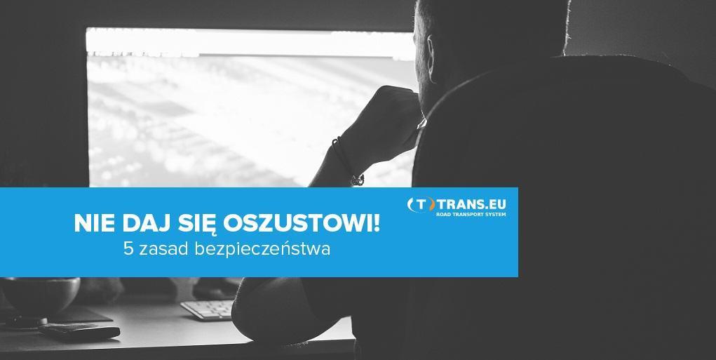 trans.eu ostrzega przed oszustami transportowymi