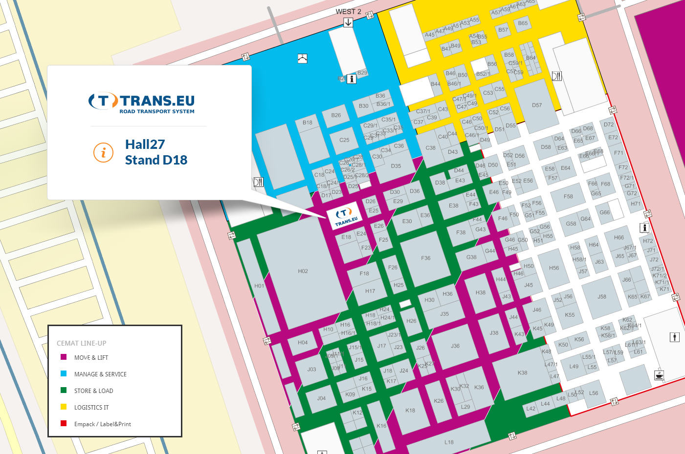 cemat 2016 map