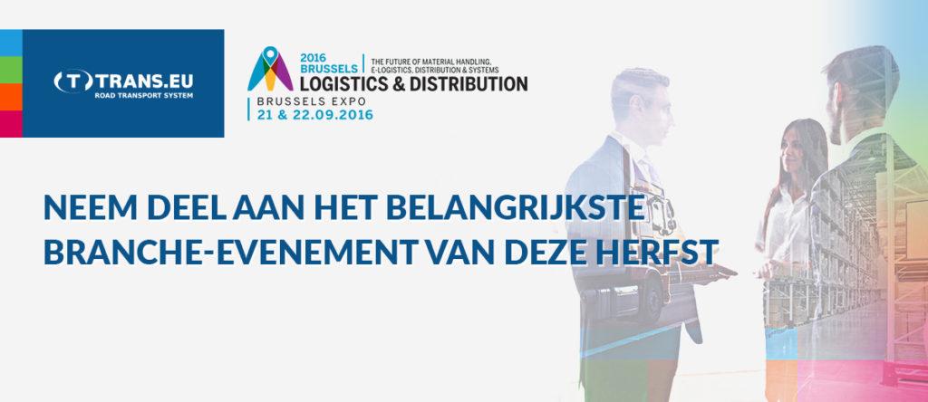 Tot ziens op de Beurs Logistics & Distribution 2016!