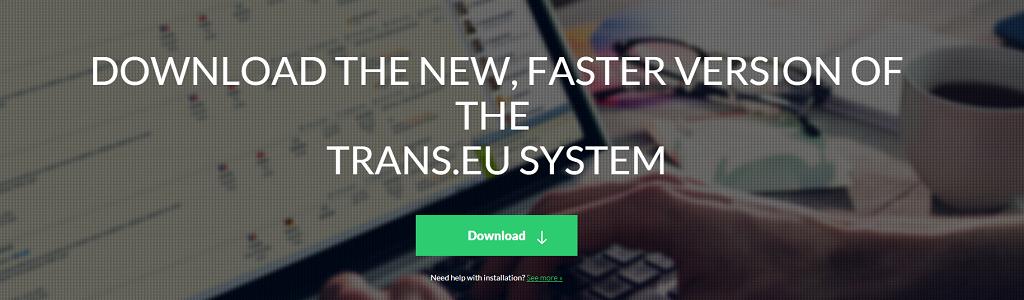 Išjungiame senas Trans.eu Sistemos versijas. Atnaujinkite programą iki rugsėjo pabaigos!