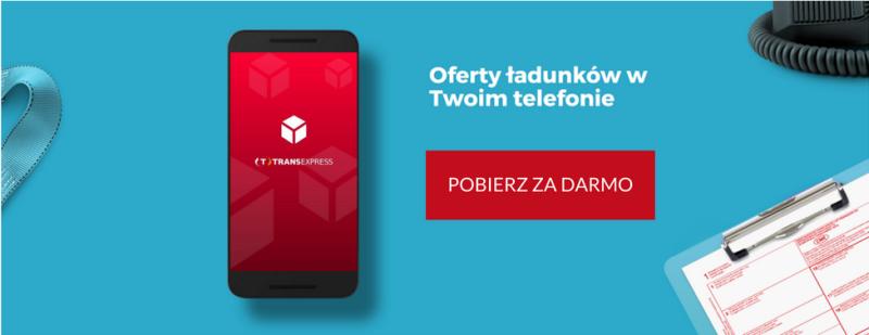 W TransExpress znajdziesz ładunek jeszcze szybciej. Sprawdź nowe funkcje!