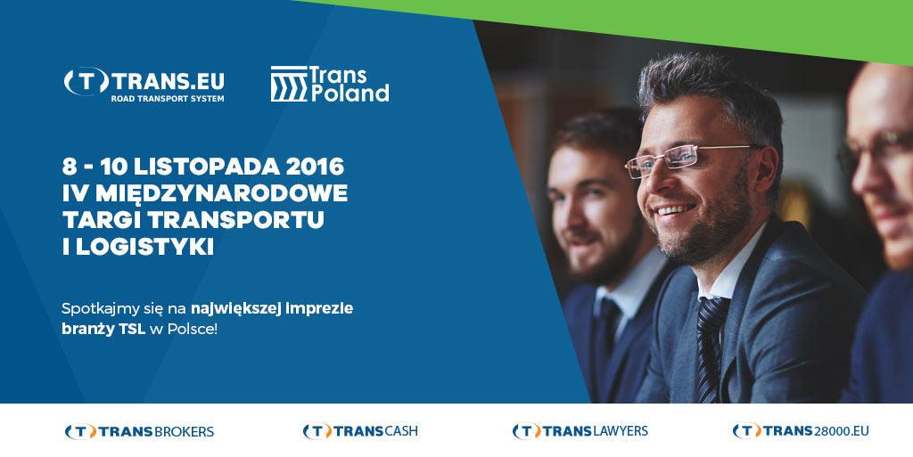 Spotkajmy się na TransPoland 2016!
