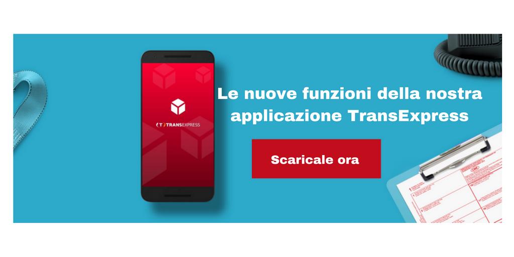 Le nuove funzioni della nostra applicazione TransExpress