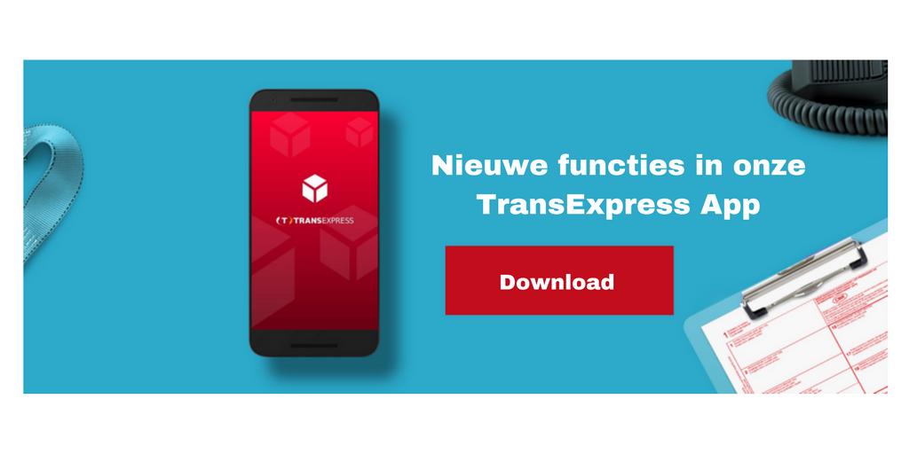 Nieuwe functies in onze TransExpress App!