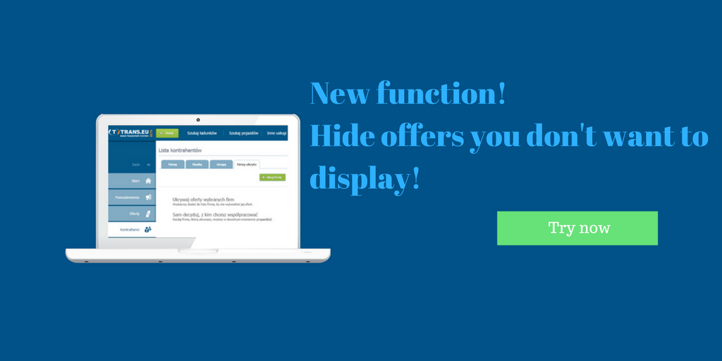New function! Hide offers you don't want to display