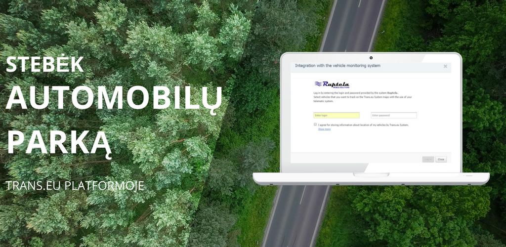 Kaip internetinės transporto platformos padeda geriau išnaudoti GPS monitoringą