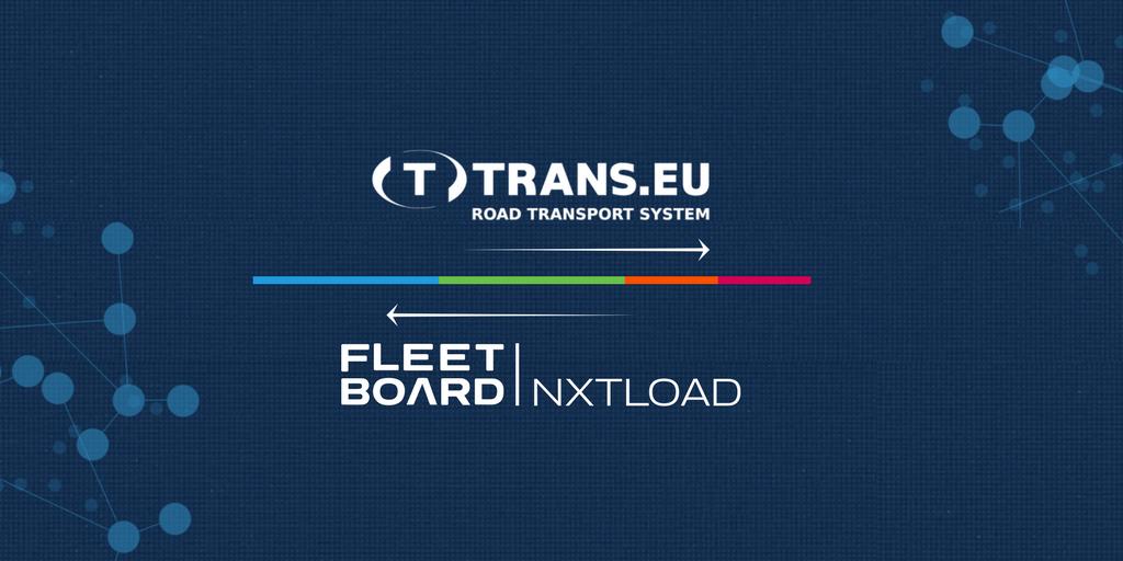 Platforma Trans.eu oraz Fleetboard nxtload nadają bieg logistyce