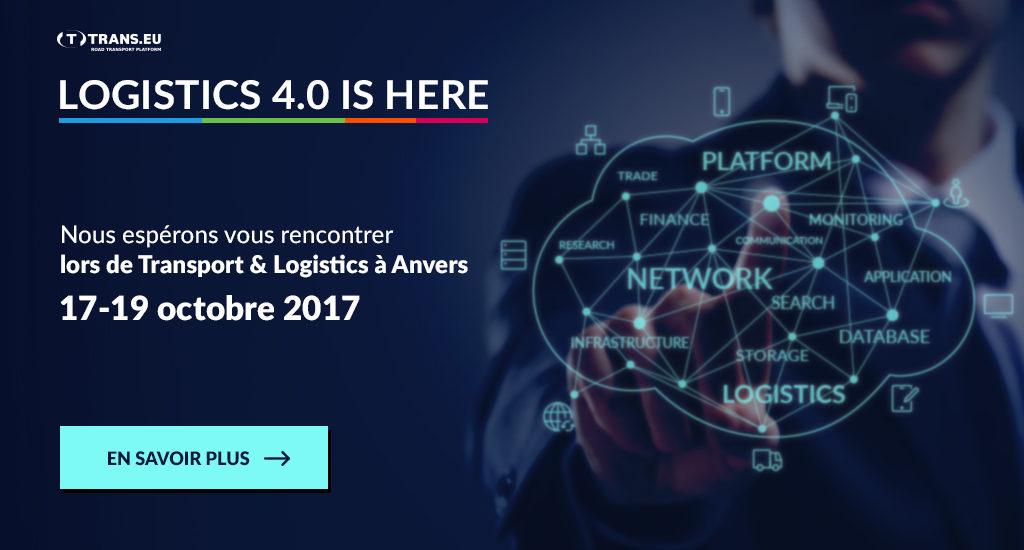 Nous espérons vous rencontrer lors de Transport & Logistics à Anvers
