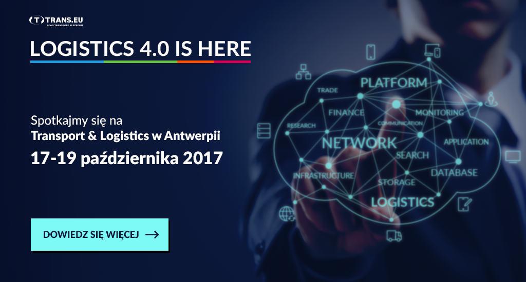 Spotkajmy się na Transport & Logistics w Antwerpii