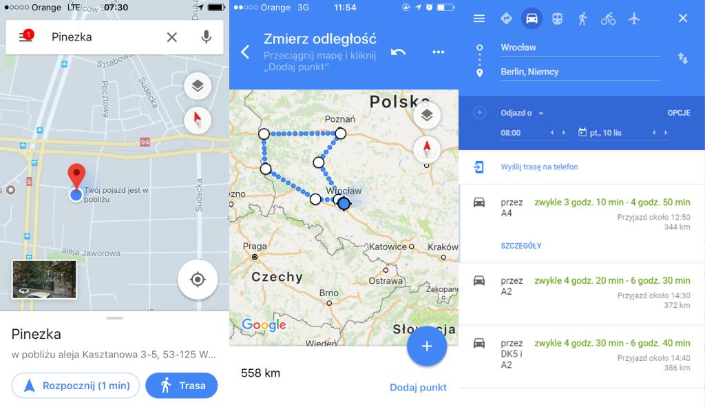 Sprawdź 9 nowych opcji Google Maps. Czy znasz je wszystkie?