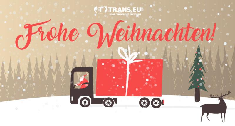 Frohe Weihnachtsgrüße.Frohe Weihnachten Und Ein Erfülltes Jahr 2018 Trans Eu Plattform