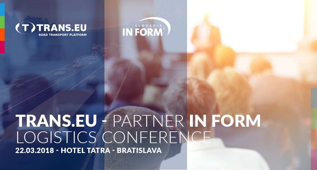 Setkejme se na InForm Logistics Conference v Bratislavě již 22.03.2018