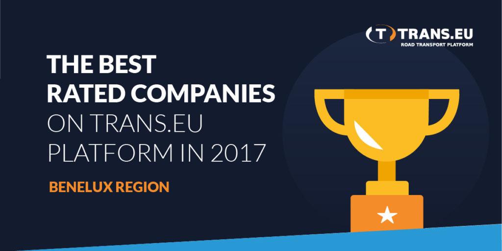 TOP10 De best beoordeelde bedrijven op het Portaal Trans.eu in 2017