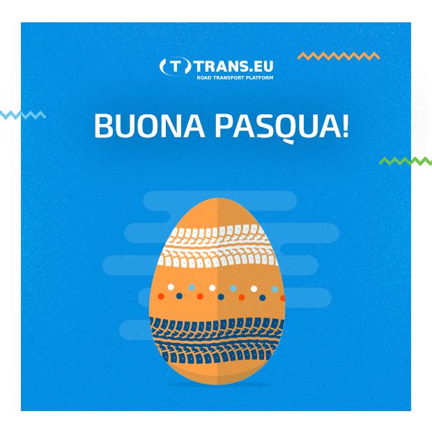 Trans.eu Italia vi augura Buona Pasqua!