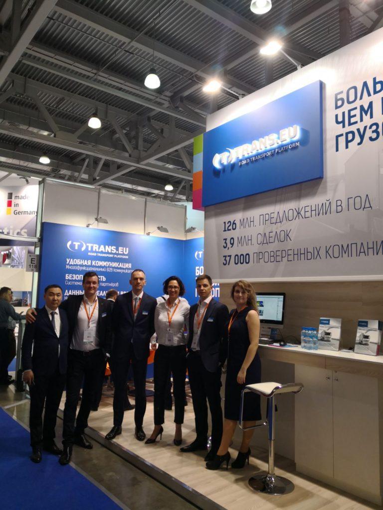 Venite a trovarci alla fiera TransRussia a Mosca!