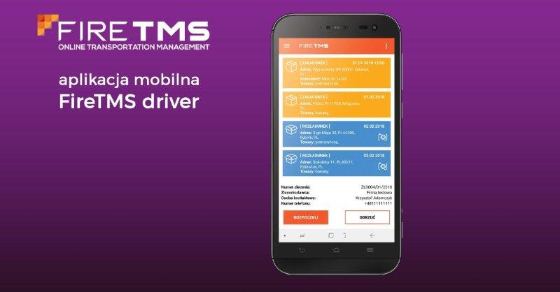 FireTMS w Twoim telefonie. Nowy poziom zarządzania transportem