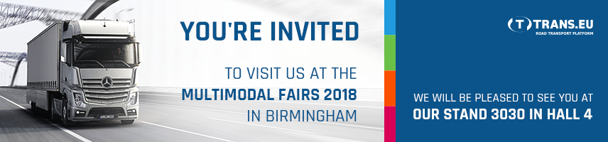 Meet us at the Multimodal Fairs 2018 in Birmingham!