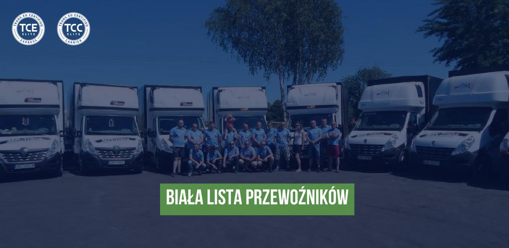 """""""Biała lista"""" firm przewozowych w Polsce. Zobacz, z kim warto współpracować!"""