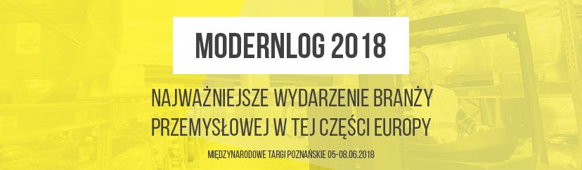 Spotkajmy się na targach MODERNLOG 2018 w Poznaniu
