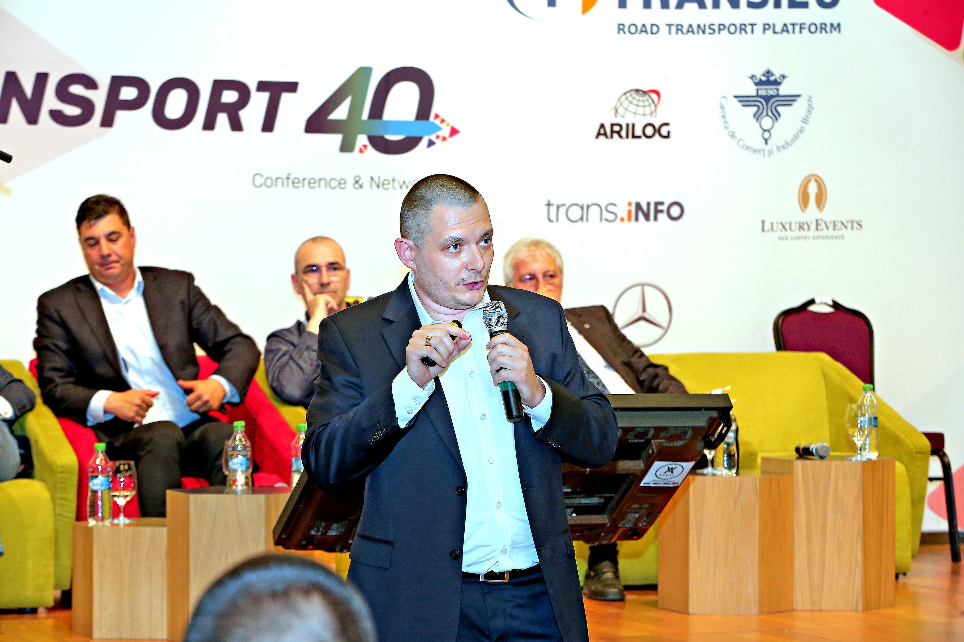 """Conferința """"Transport 4.0"""" – Despre digitalizare și economia de timp"""