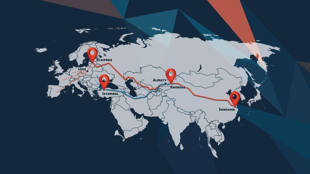 Naše nejnovější pobočka na Hedvábné stezce: další globální aktivity
