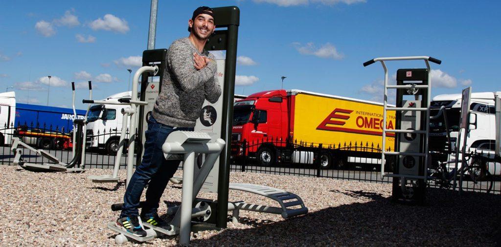 Trans.eu setzt sich mit der Stiftung Truckers Life für die Gesundheit der Fahrer ein.