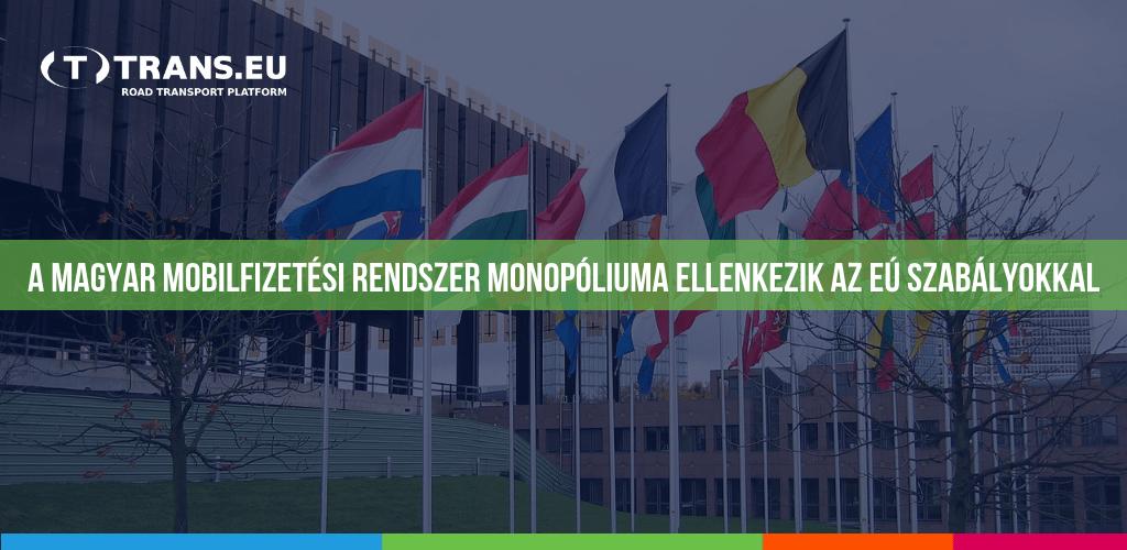 A magyar mobilfizetési rendszer monopóliuma ellenkezik az EÚ szabályokkal