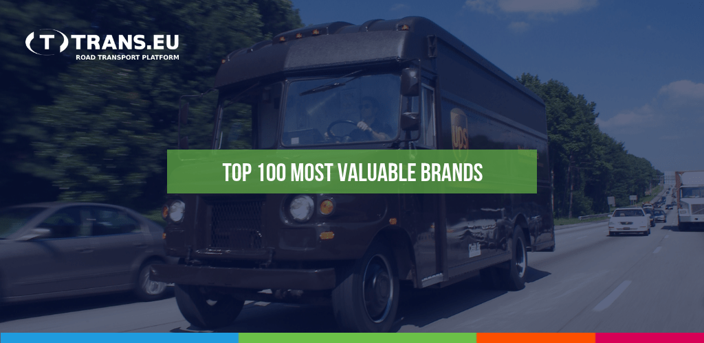 TOP 100 najhodnotnejších značiek na svete. Sú medzi nimi aj logistické spoločnosti