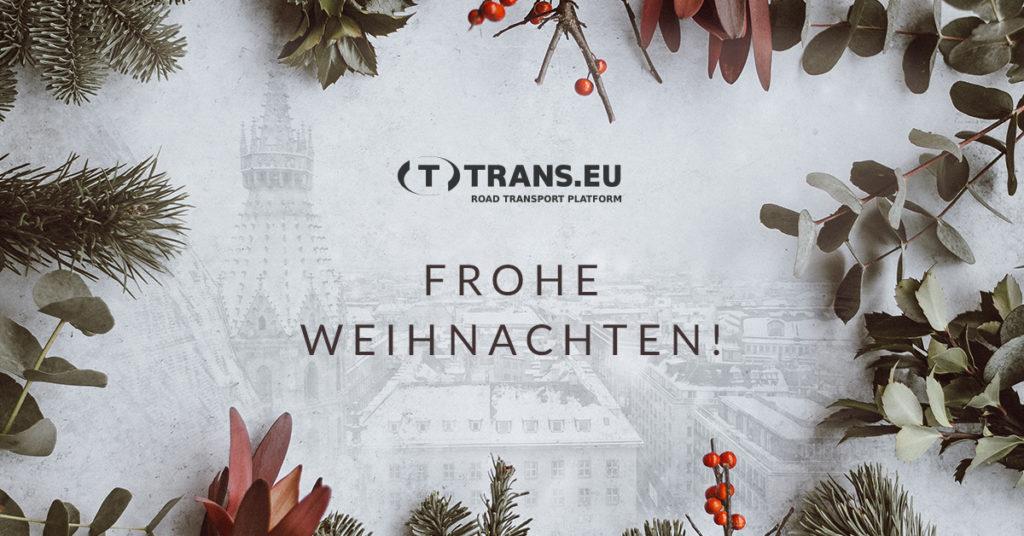 Frohe Weihnachten und ein erfolgreiches Neues Jahr!