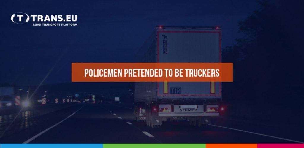 Na zachycení zlodějů policisté předstírali, že jsou truckeři