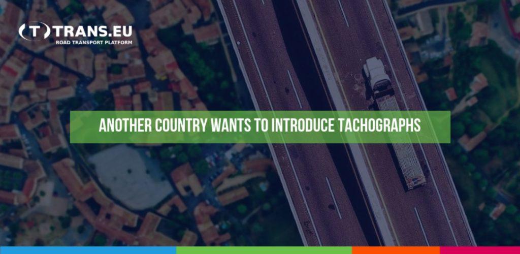 Další země chce zavést tachografy