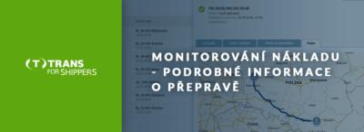 Monitoring, úplná kontrola zakázky