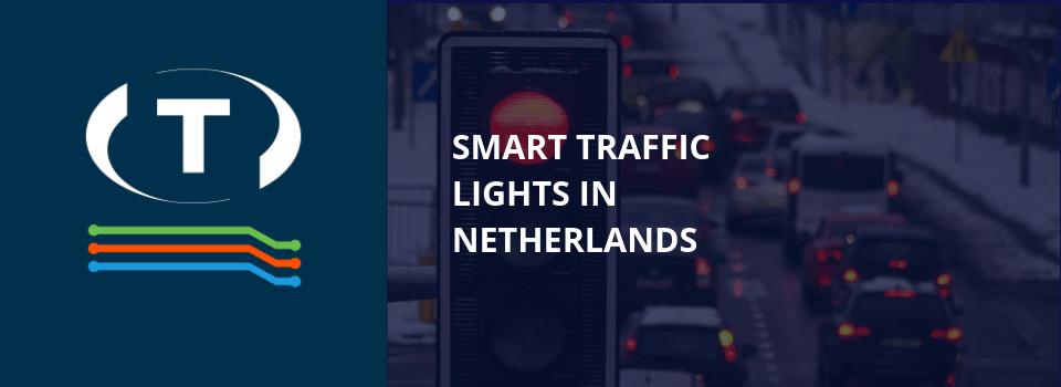 Inteligentné semafory v Holandsku
