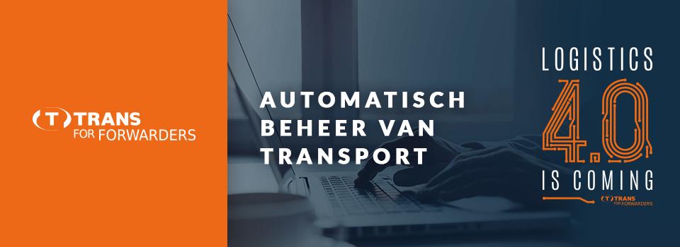 Automatische creatie van aanvragen voor de vervoerders uit de vrachten ontvangen van de verladers