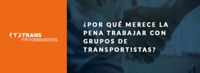 Grupos de los transportistas – una ventaja gracias a la cooperación constante