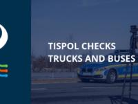 Týden zvýšených kontrol v Evropě. TISPOL kontroluje nákladní automobily a autobusy