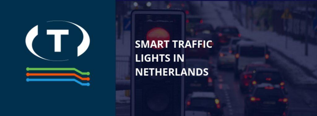 Intelligens közlekedési lámpák Hollandiában