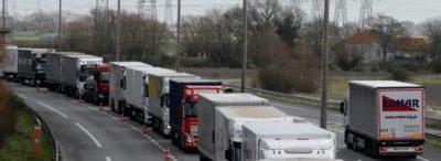 Холандските превозвачи са възмутени, защото са загубили хиляди евро заради протеста на френските митнически служители.