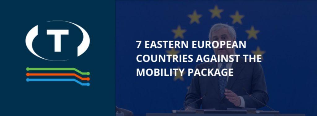 """7 kelet-európai ország a mobilitási csomag ellen. """"Az 1. mobilitási csomagot hadják a következő EP-re"""""""