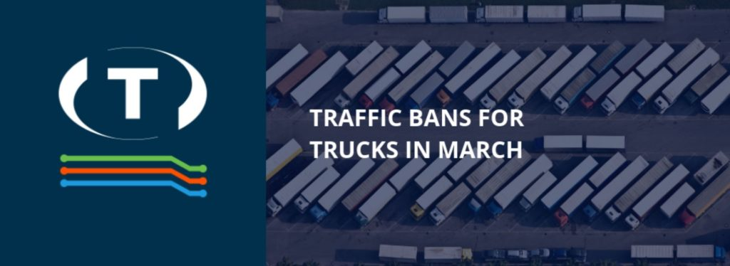Márciusi kamionstopok Európában