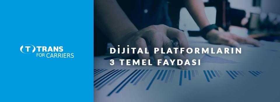 Dijital Yük Platformlarının 3 Temel Avantajı
