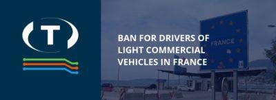 Francouzská vláda zakázala řidičům lehkých užitkových vozidel spát ve své dodávce