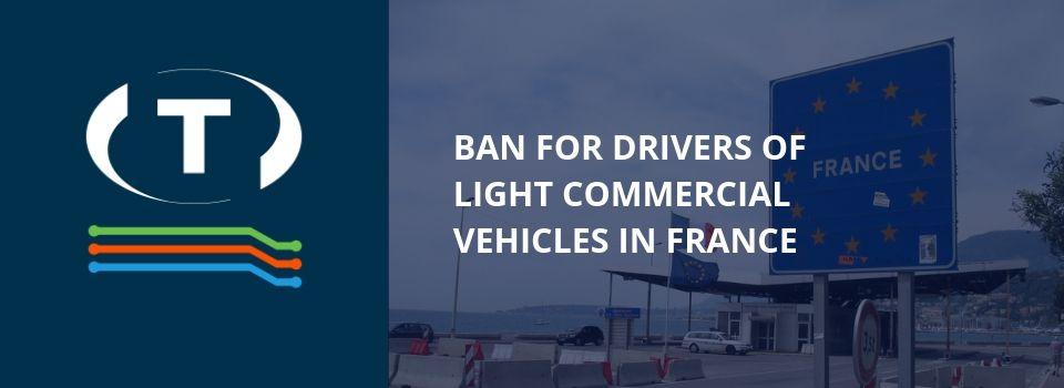 A sofőrök nem alhatnak a furgonban! Újabb kiskocsis szabalyozás Franciaországban.