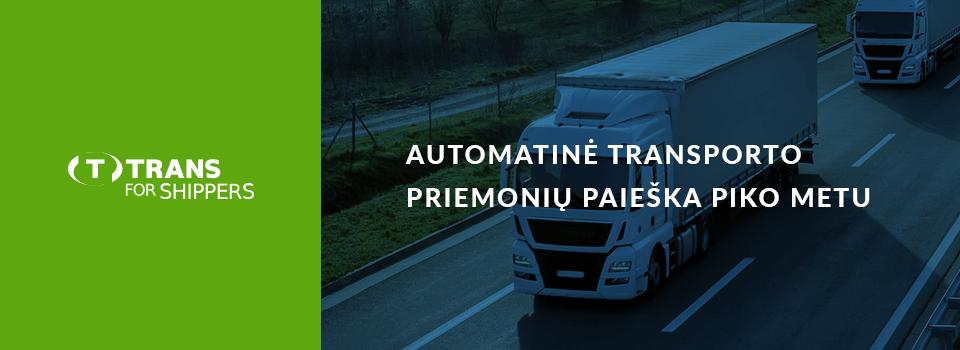 Automatinė transporto priemonių paieška piko metu – kaip tai veikia?
