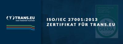 Wir haben erneut das ISO 27001 Zertifikat erhalten!