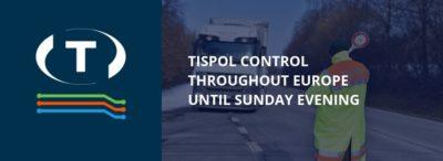 Kontrola TISPOL po celé Evropě až do nedělního večera